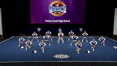 Timber Creek High School [2021 Small Junior Varsity Finals] 2021 UCA National High School Cheerleading Championship