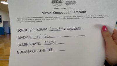 Cherry Creek High School [Junior Varsity - Pom] 2021 UDA West Spring Virtual Dance Challenge