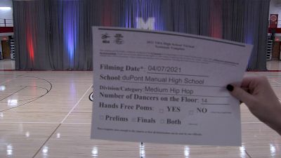 Dupont Manual High School [Virtual Medium Varsity - Hip Hop Finals] 2021 NDA High School National Championship