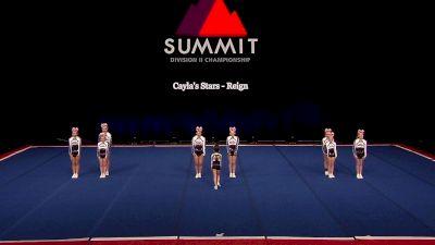 Cayla's Stars - Reign [2021 L2 Junior - Small Semis] 2021 The D2 Summit