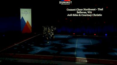 Connect Cheer Northwest - Teal [2021 L1 Senior - Medium Semis] 2021 The Summit