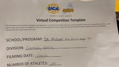 St Michael the Archangel High School [Game Day Varsity] 2021 UCA February Virtual Challenge