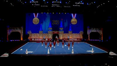 Lee University [2021 Small Coed Division I Semis] 2021 UCA & UDA College Cheerleading & Dance Team National Championship