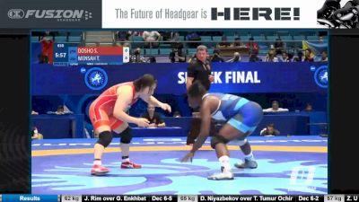 68 kg, Quarterfinal, Tamyra Mensah Stock, USA vs Sara Dosho, JPN