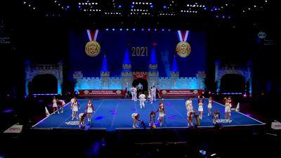 Brother Martin High School [2021 Medium Varsity Coed Finals] 2021 UCA National High School Cheerleading Championship