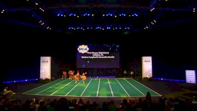West Nassau High School [2020 Junior Varsity Non Tumbling Game Day Semis] 2020 UCA National High School Cheerleading Championship