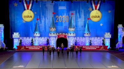 Rhythm Dance Studio [2020 All Star Senior Pom - Small] 2020 UDA National Dance Team Championship