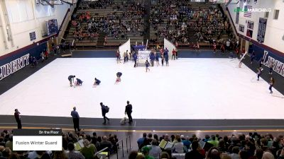 Fusion Winter Guard at 2019 WGI Guard East Power Regional