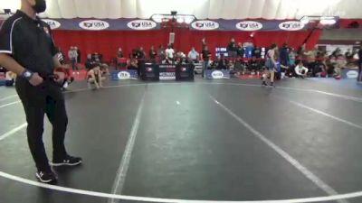 52 kg Rr Rnd 3 - Anthony Knox, Rhino Wrestling LLC vs Benjamin Davino, St. Charles WC
