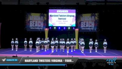 Maryland Twisters Virginia - Fourcast [2021 L4 Junior - Medium Day 2] 2021 ACDA: Reach The Beach Nationals