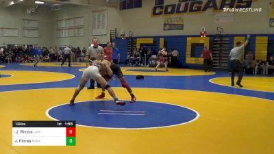 138 lbs Prelims - Justin Rivera, Lake Highland Prep (FL) vs Jose Flores, Monache