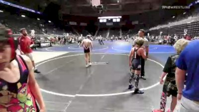109 lbs Semifinal - Kale Baumann, North Montana WC vs Dominic Sanchez, Pinedale Pummelers