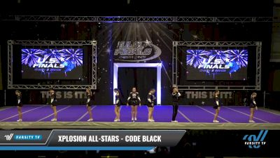Xplosion All-Stars - Code Black [2021 L3 Senior Coed Day 2] 2021 The U.S. Finals: Ocean City