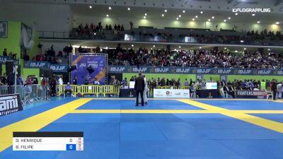 BRUNO FILIPE vs MANSUR MAKHMAKHHANOV 2019 European Jiu-Jitsu IBJJF Championship