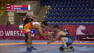 61 kg Quarterfinal - Ravinder RAVINDER, IND vs Majid DASTAN, IRI