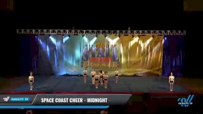 Space Coast Cheer - Midnight [2021 L4.2 Senior Coed - D2 Day 2] 2021 The STATE DI & DII Championships