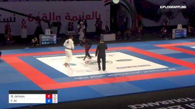 Devhonte Johson vs Faisal Al Ketbi Abu Dhabi World Professional Jiu-Jitsu Championship