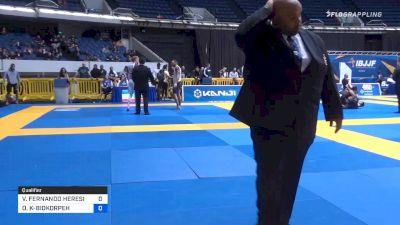 VICENTE FERNANDO HERESI ABARCA vs OLIVER KAMARI-BIDKORPEH 2019 World IBJJF Jiu-Jitsu No-Gi Championship