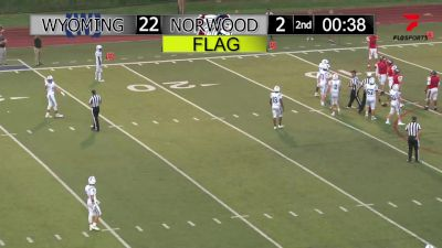 Replay: Norwood vs Wyoming | Sep 3 @ 7 PM