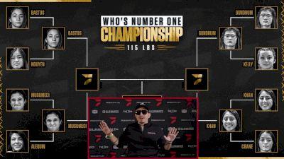 WNO Championship Semifinal Bracket Update