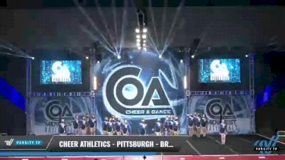 Cheer Athletics - Pittsburgh - BronzeCats [2021 L3 Senior - Medium Day 2] 2021 COA: Midwest National Championship