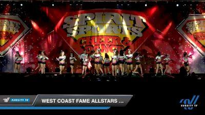 West Coast Fame Allstars - CODE 42 [2020 L4.2 Senior - D2 - Medium Day 2] 2020 Spirit Sports: Duel In The Desert