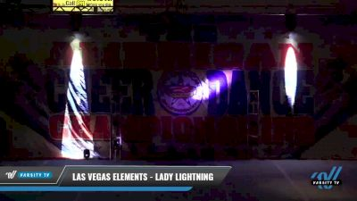 Las Vegas Elements - Lady Lightning [2021 L2 Youth - D2 - Small Day 2] 2021 The American Celebration DI & DII