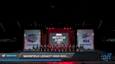 - Mansfield Legacy High School [2019 Game Day Cheer - Varsity Day 1] 2019 NCA North Texas Classic
