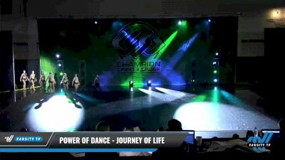Power of Dance - Journey Of Life [2021 Senior - Contemporary/Lyrical - Large Day 3] 2021 CSG Dance Nationals
