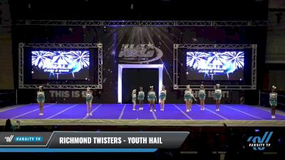 Richmond Twisters - Youth Hail [2021 L1 Youth - D2 - A Day 2] 2021 The U.S. Finals: Ocean City