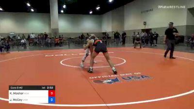 70 kg Consolation - Kyle Mosher, New York City RTC vs Justin McCoy, Cavalier Wrestling Club