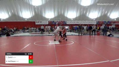285 lbs Prelims - Toby Cahill, Buffalo vs Gavin Hoffman, Ohio State