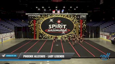 Phoenix Allstars - Lady Legends [2021 L4 Senior] 2021 PA Championship