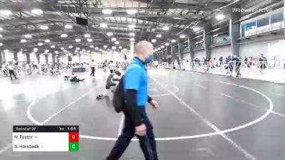 152 lbs Prelims - Nick Foster, PA vs Brad Hornback, OH