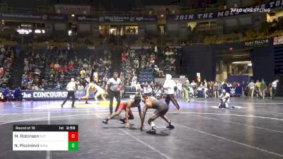 125 lbs Prelims - Malcolm Robinson, Rutgers vs Nick Piccininni, Oklahoma State