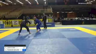 ANDREA JEAN KIANI vs CASSANDRA FRANCES BAUMGA 2020 World Master IBJJF Jiu-Jitsu Championship