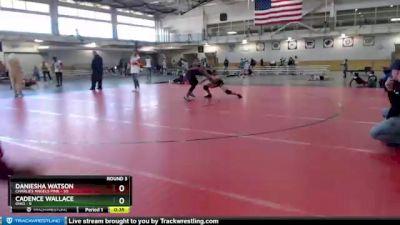 132 lbs Round 3 (4 Team) - Cadence Wallace, Ohio vs Daniesha Watson, Charlies Angels Pink