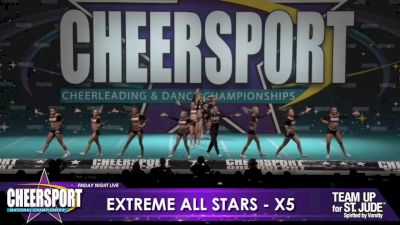 Extreme All Stars - Lvl X [2020 L6 Senior XSmall Coed Day 1] 2020 CHEERSPORT Nationals: Friday Night Live