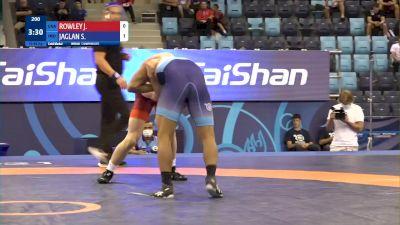 80 kg Final 1-2 - James Mockler Rowley, United States vs Sagar Jaglan, India