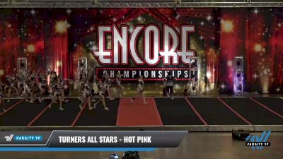Turners All Stars - Hot Pink [2021 L3 Junior - D2 Day 1] 2021 Encore Championships: Pittsburgh Area DI & DII