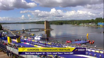 2018 European Championships - Men's Triathlon