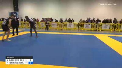 JUAN CLEBER PIO DE SOUZA vs PEDRO HENRIQUE DE OLIVEIRA E SIL 2020 IBJJF Pan No-Gi Championship