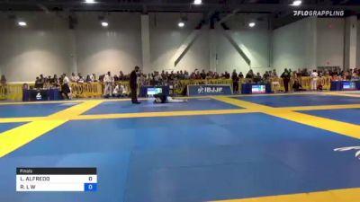 LEONARD ALFREDO vs ROBERT L W 2021 American National IBJJF Jiu-Jitsu Championship