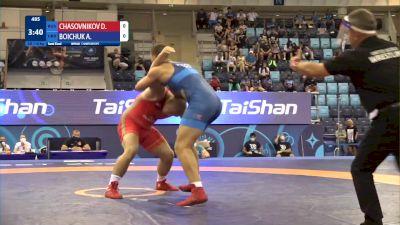 110 kg 1/2 Final - Daniil Chasovnikov, Russia vs Artur Boichuk, Ukraine