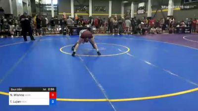 57 kg Prelims - Nathan Wishne, Kobra Kai Training vs Tristan Lujan, Michigan Wrestling CLub