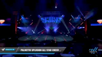Palmetto Xplosion All Star Cheer - Fire Storm [2021 L1 Junior - D2 - Small Day 2] 2021 Spirit Sports: Battle at the Beach