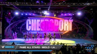 FAME All Stars - Midlo - Lady Crush [2020 Senior Medium 4 Day 2] 2020 CHEERSPORT National Cheerleading Championship