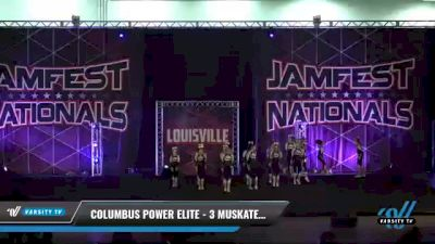 Columbus Power Elite - 3 Muskateers [2021 L3 Junior - D2 - Small Day 2] 2021 JAMfest: Louisville Championship