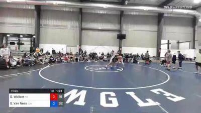 66 kg Final - Griffin Walizer, M2 Black vs Shayne Van Ness, Blairstown Wrestling Club