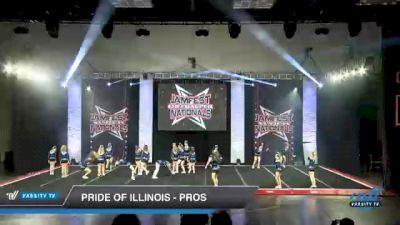 Pride of Illinois - Pros [2021 L2 Junior - D2 - Medium Day 1] 2021 JAMfest Cheer Super Nationals